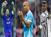 Uluslararası Futbol Federasyonları Birliği (FIFA), yılın 11'ine adayları açıkladı.