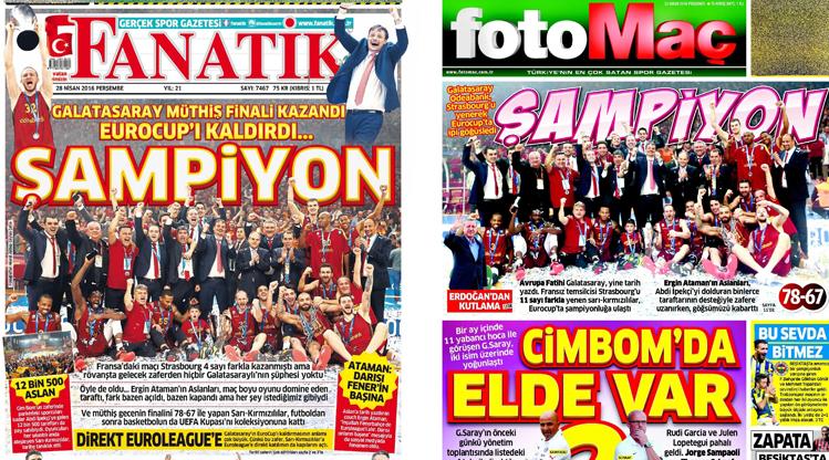28 Nisan gazete manşetleri