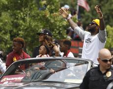 Cleveland Cavaliers'a çılgın karşılama!
