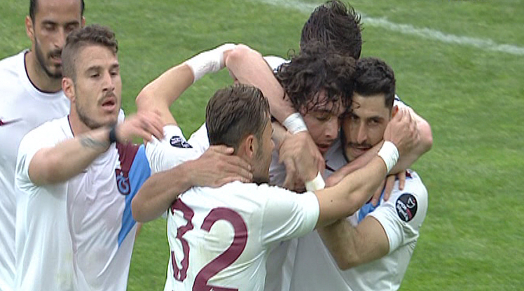 Çaykur Rizespor Trabzonspor golleri