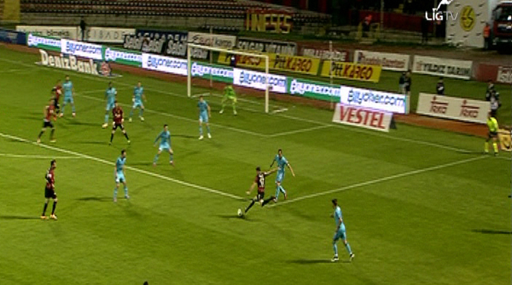 Eskişehirspor Kasımpaşa golleri