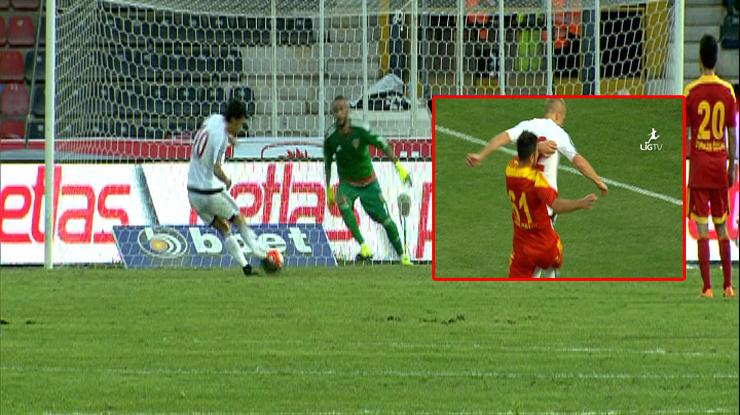 Gaziantepspor Kayserispor golleri