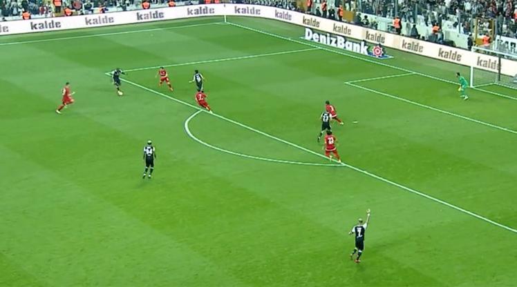 Beşiktaş Antalyaspor golleri