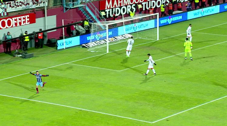 Trabzonspor Adanaspor golleri