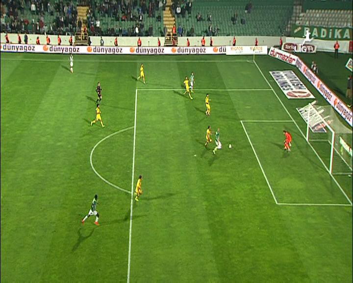Bursaspor Sivasspor maç özeti
