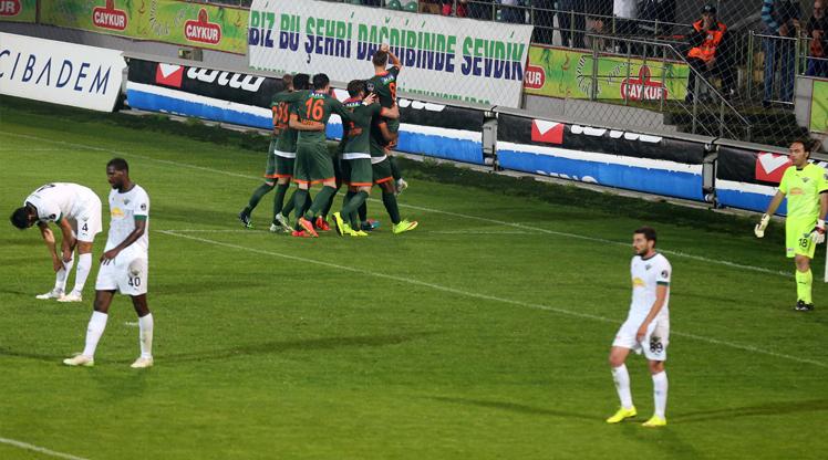 Çaykur Rizespor Akhisar Bld.Spor maç özeti