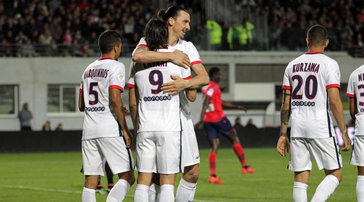 GFCO Ajaccio Paris St Germain maç özeti