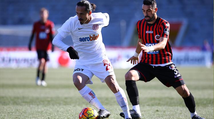 Gençlerbirliği Antalyaspor maç özeti
