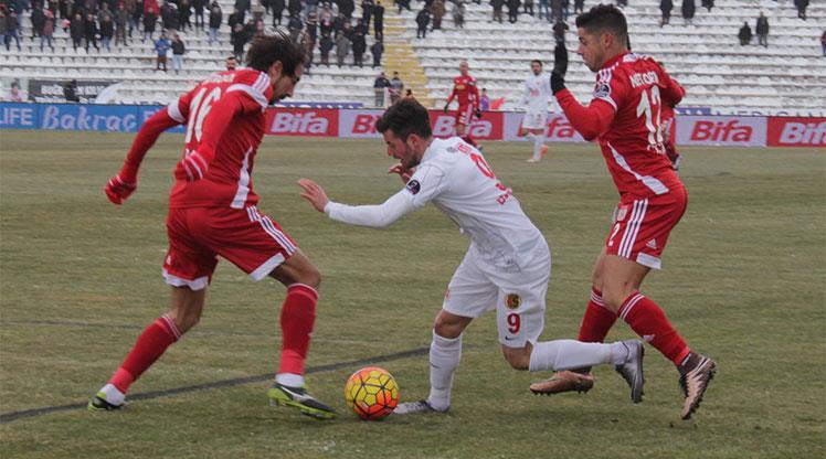 Medicana Sivasspor Eskişehirspor maç özeti