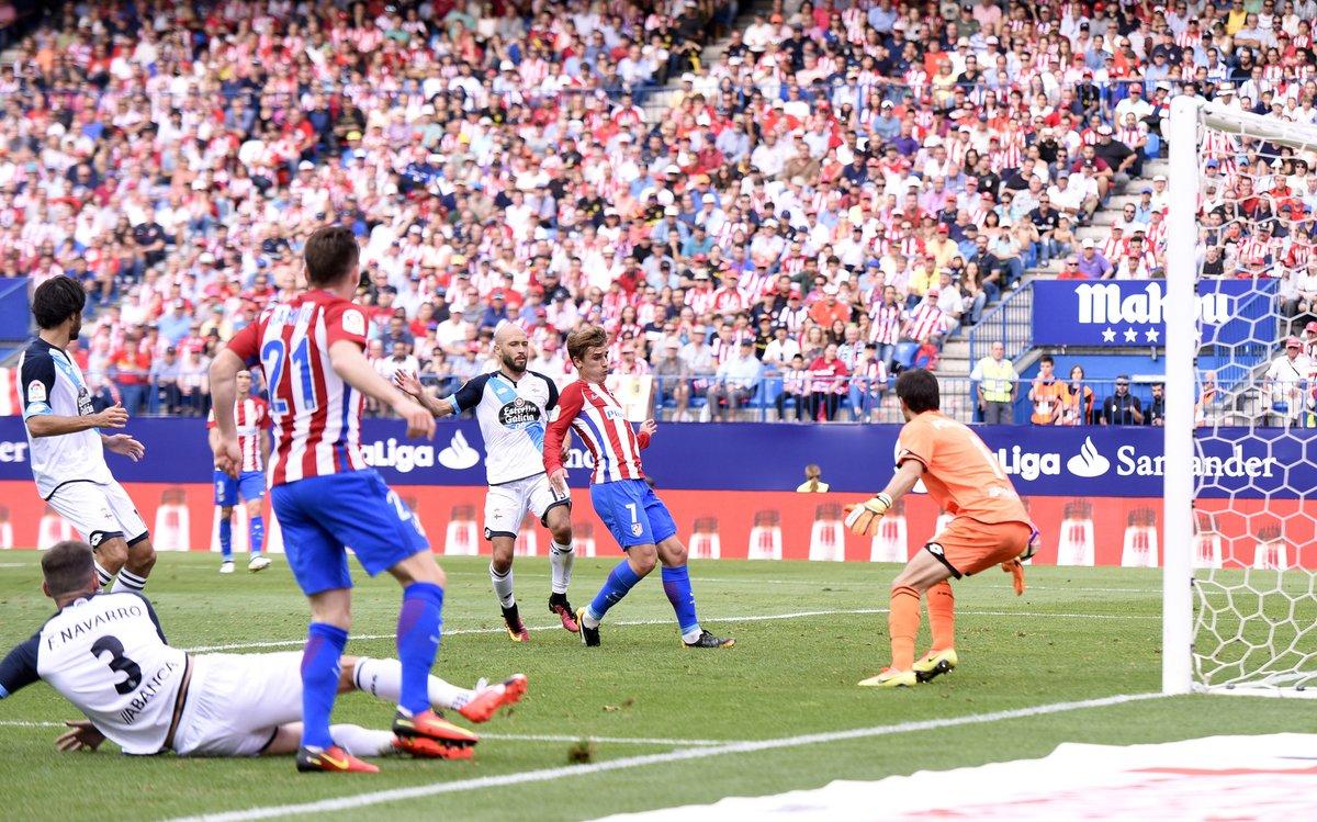 Atletico Madrid Deportivo La Coruna maç özeti