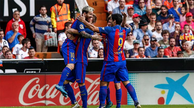 Valencia Barcelona maç özeti