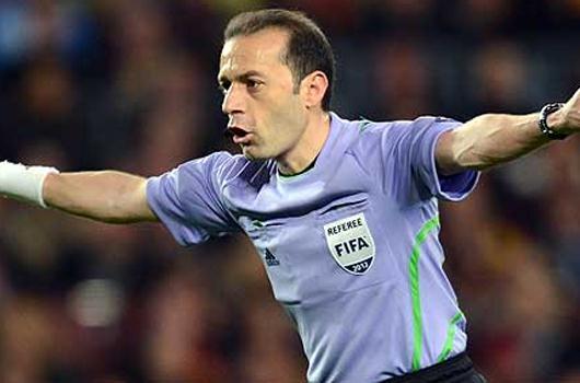 İtalya-İrlanda maçı Çakır'ın