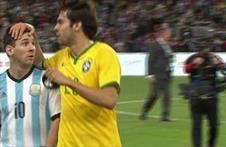 Messi'den Kaka'ya büyük ayıp