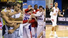 Euroleague'de müthiş gece