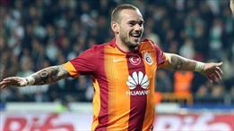 G.Saray'da kurtuluş formülü: Sneijder