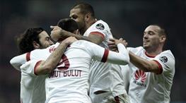 Galatasaray söktü aldı