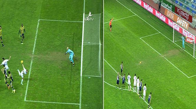 İşte Fenerbahçe'nin 85'te kazandığı penaltı!