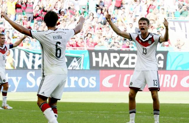 Almanya Portekiz'i ezdi geçti!