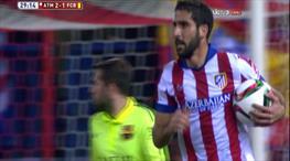 Tartışmalı penaltı! Atletico yeniden önde!