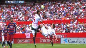 Sevilla'da bayram, Barça'da hüsran! 2-0 oldu...