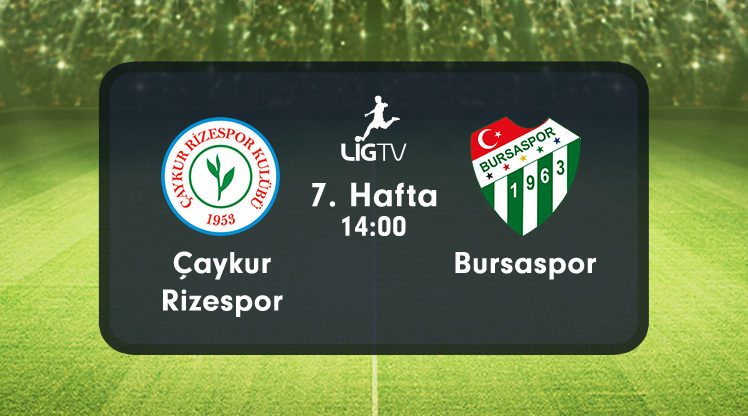Ç.Rizespor  -  Bursaspor
