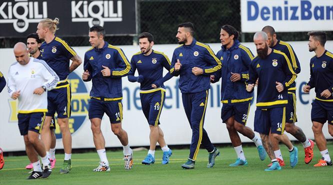 Fenerbahçe günü izinli geçirdi