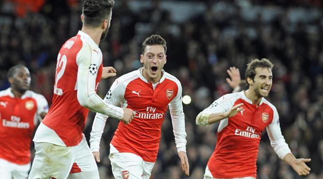 Arsenal devam dedi