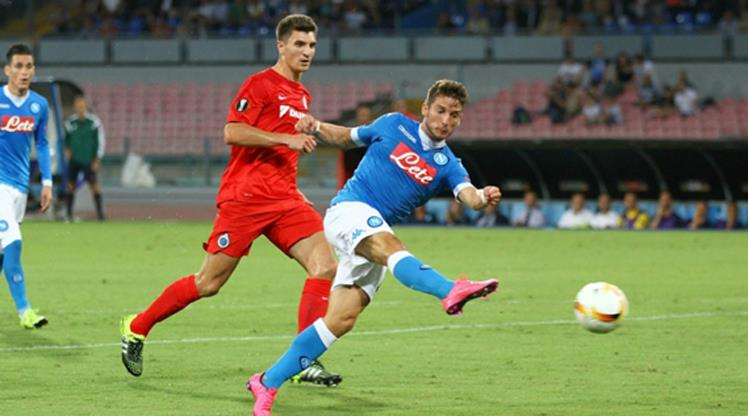 Club Brugge-Napoli maçı seyircisiz