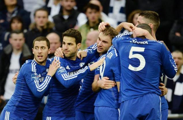 Lig Kupası'nda gülen Chelsea!