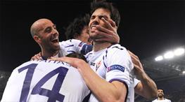 Çakır çaldı, Fiorentina turladı