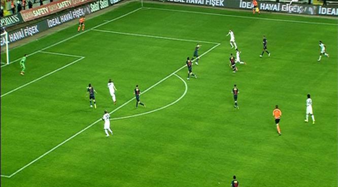 Akhisar'ın 'Pirlo'su sahnede! Sezonun golüne aday!