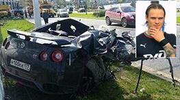 Almeida'nın arkadaşından korkunç kaza!