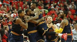 Cavaliers seriye King James ile tutundu