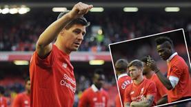 Anfield Road Gerrard'a ağladı