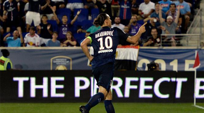 Ibrahimovic'ten ManU'ya halı saha golü!..