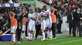 Kayserispor - Beşiktaş: 0-1 (ÖZET)