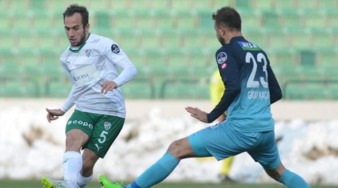 Bursaspor ile Çaykur Rizespor 29. kez!