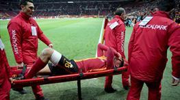 Galatasaray'da Sinan Gümüş 2 ay yok!