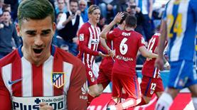 Atletico'nun nefesi Barça'nın ensesinde (ÖZET)