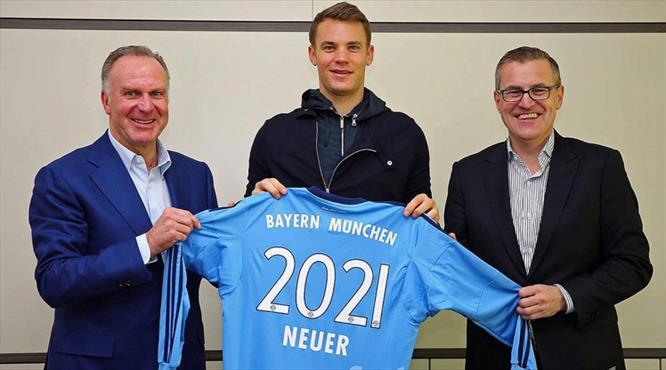 Neuer 2021'e kadar imzaladı