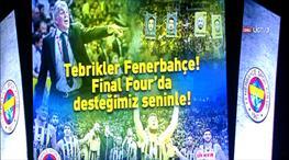 Ülker Arena bayram yeri!