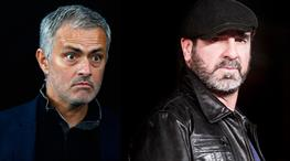 Mourinho, Cantona'ya göre Manchester United'a uygun değil