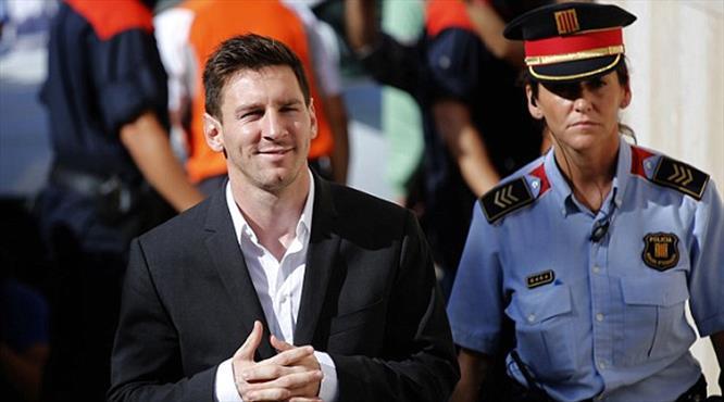 Messi sanık koltuğunda