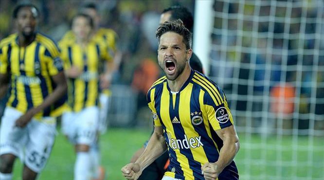 Diego'dan Fenerbahçe'ye veda mesajı!