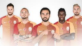 İşte Galatasaray'ın yeni sezon formaları...