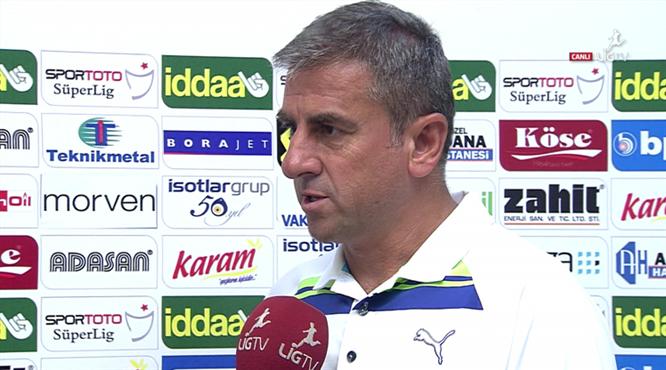 Hamza Hamzaoğlu'ndan transfer açıklaması!