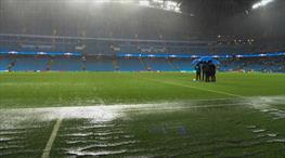 Manchester'ı su bastı! (FOTO GALERİ)