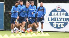 Fenerbahçe pres çalıştı