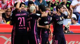Asist Arda Turan gol Luis Suarez!