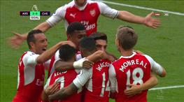 Derbide Arsenal, Chelsea'yi şoka soktu! 3 dakikada 2 gol!